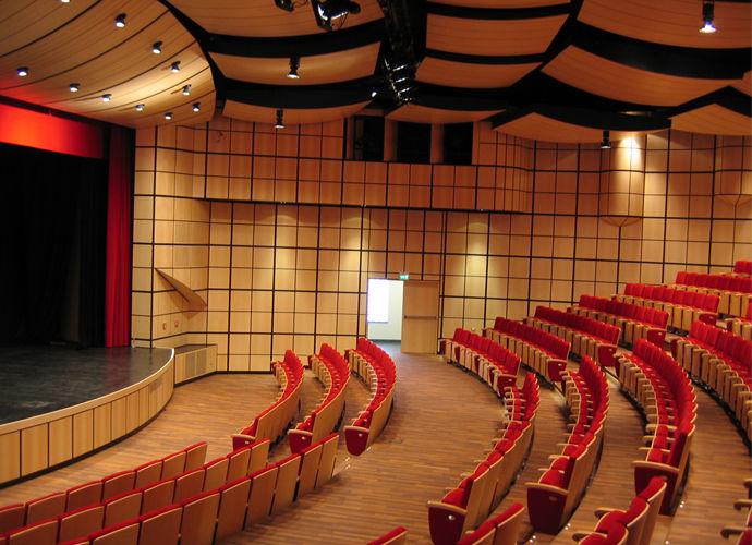 Teatro San Giacomo Case History Laives Italy Decima 1948